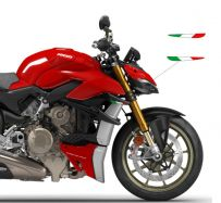 Aufkleber tricolore ohne Schriftzug für Winglets  - Ducati Streetfighter V4 / V4S