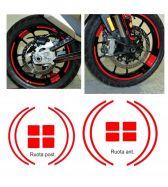 Felgenaufklebersatz für Ducati