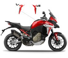 Aufkleber kit auf der Verkleidung - Ducati Multistrada V4