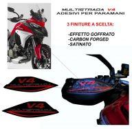 Aufkleber hand protection - Ducati Multistrada V4