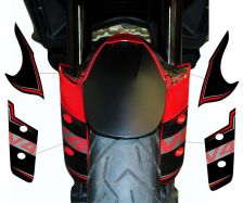 Aufkleber für Kotflügel vorne Ducati Multistrada V4 / V4S