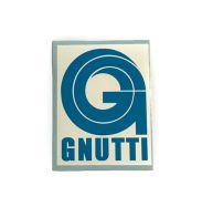 Gnutti Sponsoraufkleber 69x55mm